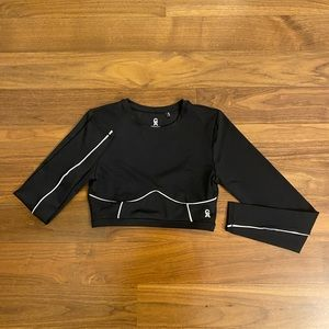 Good American Long Sleeve Workout Top